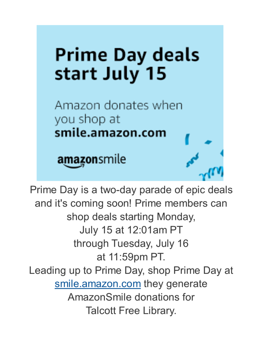 Amazon Prime Day is a two-day parade   Talcott Library